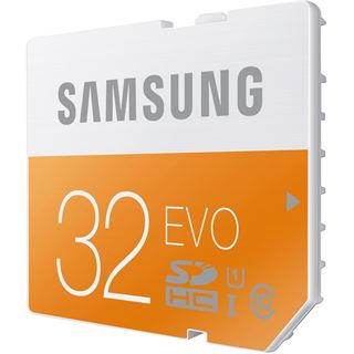 32 GB Samsung EVO SDHC UHS-I Retail