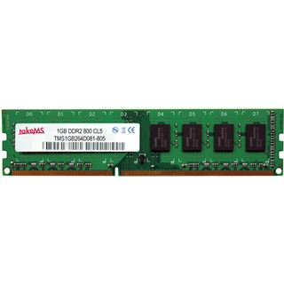 512MB takeMS PX512-805-B08K2B DDR2-800 DIMM CL5 Single