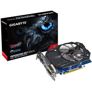 2GB Gigabyte Radeon R7 250X OC Aktiv PCIe 3.0 x16 (Retail)
