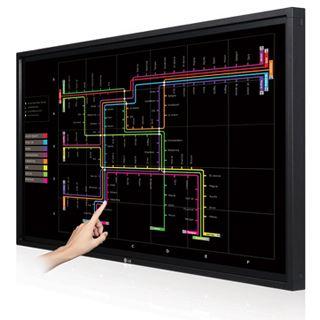 "55"" (139,70cm) LG Electronics 55WT30 Touch schwarz 1920x1080 1xDVI/1xComposite/Component-Eingang (Y/Pb/Pr) /DisplayPort/HDMI/VGA"