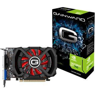 1GB Gainward GeForce GT 740 GDDR5 Aktiv PCIe 3.0 x16 (Retail)