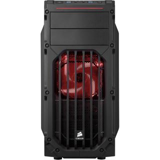 Corsair Carbide SPEC-03 LED rot mit Sichtfenster Midi Tower ohne