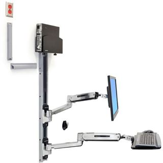 ERGOTRON LX Sit Stand Wall Mount System