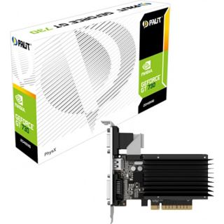 2GB Palit GeForce GT 730 Passiv Passiv PCIe 2.0 x 8 (Retail)