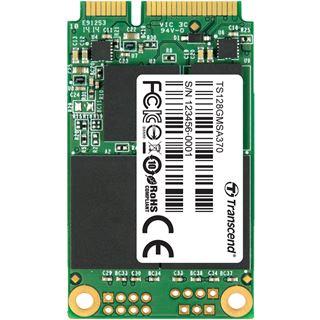128GB Transcend Industrial MSA370 Module mSATA 6Gb/s MLC