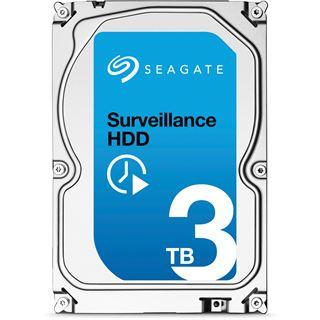 """3000GB Seagate Surveillance HDD ST3000VX002 64MB 3.5"""" (8.9cm) SATA 6Gb/s"""