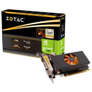 1GB ZOTAC GeForce GT 730 LP Aktiv PCIe 2.0 x16 (Retail)