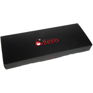 Ducky Zero Zone blaue LED CHERRY MX Blue USB Deutsch schwarz