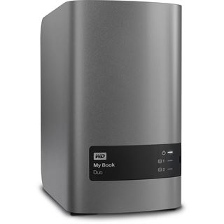 "8000GB WD My Book Duo WDBLWE0080JCH-EESN 3.5"" (8.9cm) USB 3.0"