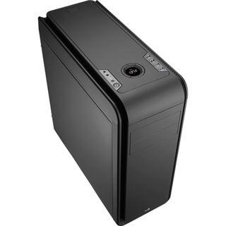 AeroCool DS 200 Black Edition gedämmt Midi Tower ohne Netzteil