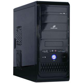 Cooltek K2 3.0 Midi Tower ohne Netzteil schwarz