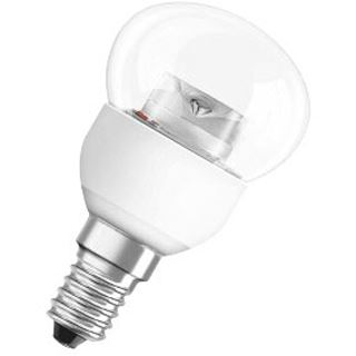 Osram LED Star Classic P 25 4W/827 CD Klar E14 A+