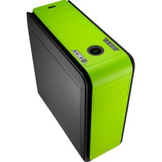 AeroCool DS 200 Green Edition gedämmt Midi Tower ohne Netzteil