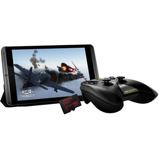 Black Bundle NVIDIA SHIELD Tablet LTE + WiFi 32GB + 128GB + Controller + Cover