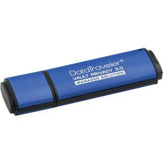 8 GB Kingston DataTraveler Vault Privacy 3.0 blau USB 3.0