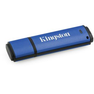 4 GB Kingston DataTraveler Vault Privacy 3.0 blau USB 3.0