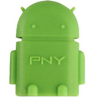 PNY OTG Robot mini-USB to USB Adapter