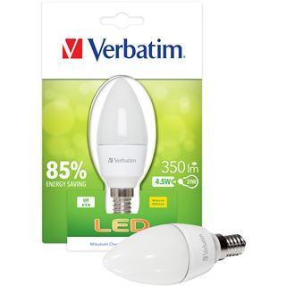 Verbatim LED Candle matt 4,5W Matt E14 A+