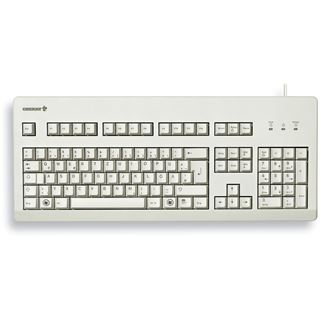 CHERRY G80-3000 PS/2 & USB Englisch (US)/Chinesisch hellgrau