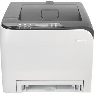 Ricoh SP C252SF Farblaser Drucken/Scannen/Kopieren/Faxen LAN/USB 2.0