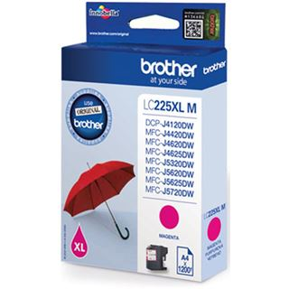 Brother Tinte LC225XLM magenta