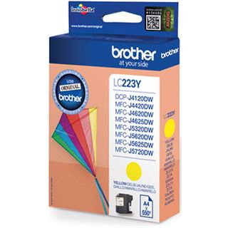 Brother Tinte LC223Y gelb