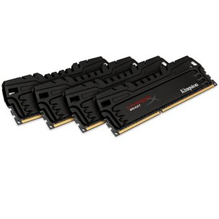 16GB HyperX Beast DDR3-2400 DIMM CL11 Quad Kit
