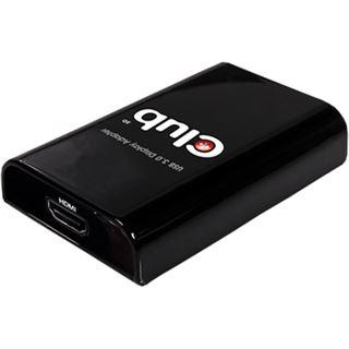 Club 3D CSV-2300H Adapter für USB 3.0 auf HDMI (CSV-2300H)