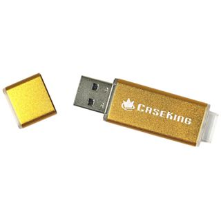 16 GB Mach Xtreme Technology MX-LX caseking Edition gold USB 3.0