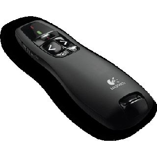 Logitech Wireless Presenter R400 OEM 2.4 GHz schwarz