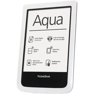 "6.0"" (15,24cm) Pocketbook Aqua WiFi 4GB weiss"