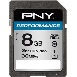 8 GB PNY Performance SD UHS-I Retail