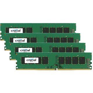 32GB Crucial CT4K8G4DFD8213 DDR4-2133 DIMM CL15 Quad Kit