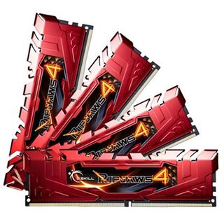 32GB G.Skill RipJaws 4 rot DDR4-2133 DIMM CL15 Quad Kit