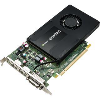 4GB PNY Quadro K2200 Aktiv PCIe 2.0 x16 (Retail)