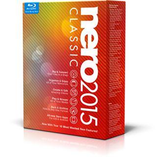 Nero 2015 Classic 32/64 Bit Deutsch Brennprogramm Vollversion PC
