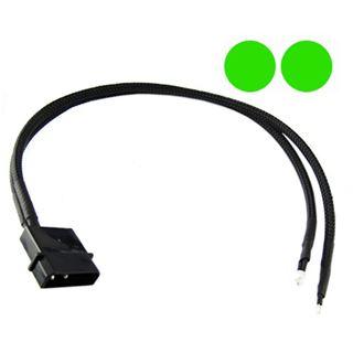 XSPC grüne 5mm Twin-Wired LED für 4-Pin Molex (5060175582003)
