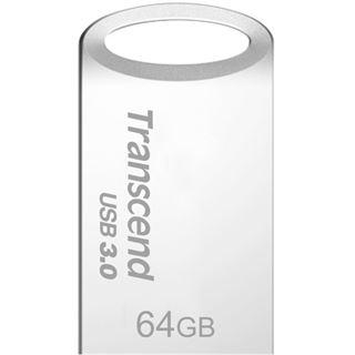 64 GB Transcend JetFlash 710S silber USB 3.0