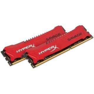 8GB HyperX Savage rot DDR3-1866 DIMM CL9 Dual Kit