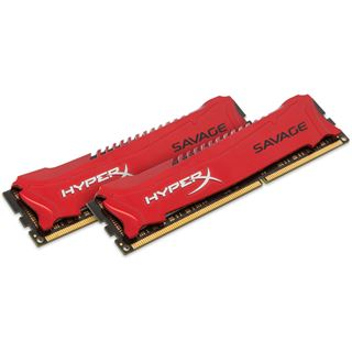 8GB HyperX Savage rot DDR3-2400 DIMM CL11 Dual Kit