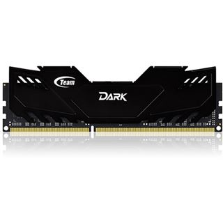 8GB TeamGroup Dark Series schwarz DDR3-2133 DIMM CL10 Dual Kit