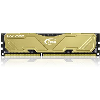 16GB TeamGroup Vulcan Series gold DDR3-1600 DIMM CL9 Dual Kit
