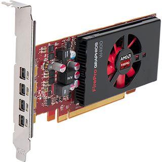 2GB AMD FirePro W4100 Aktiv PCIe 3.0 x16 (Retail)