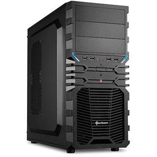 Sharkoon VG4-S Midi Tower ohne Netzteil schwarz
