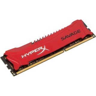 8GB HyperX Savage rot DDR3-1600 DIMM CL9 Single