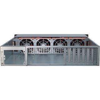 Inter-Tech IPC 2U-20255 Server Rack ohne Netzteil schwarz