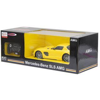 Jamara Mercedes SLS AMG JAM 1:18 27 MHz gelb