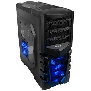 Antec GX505 mit Sichtfenster Midi Tower ohne Netzteil schwarz/blau
