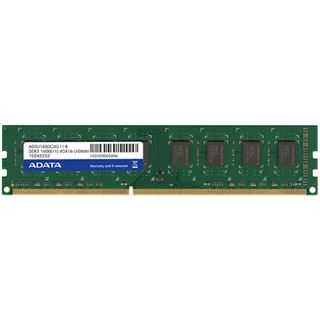 4GB ADATA Value DDR3-1600 DIMM CL11 Single