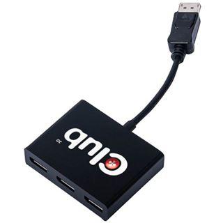 Club 3D SenseVision CSV-5300A 3fach HUB für Displayport (CSV-5300A)